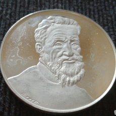 Medallas históricas: QUINTO CENTENARIO NACIMIENTO DE MIGUEL ÁNGEL. Lote 126485914