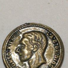 Medallas históricas: MEDALLITA ALFONSO XII 1871. Lote 126717939