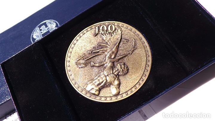 Medallas históricas: MEDALLA FUERZAS AÉREAS COLOMBIANAS.- 100 AÑOS DE LA AVIACIÓN MUNDIAL - Foto 3 - 127843899