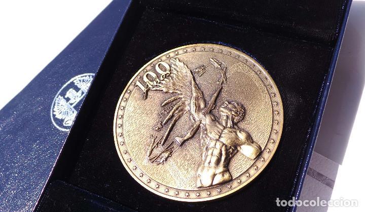 Medallas históricas: MEDALLA FUERZAS AÉREAS COLOMBIANAS.- 100 AÑOS DE LA AVIACIÓN MUNDIAL - Foto 4 - 127843899