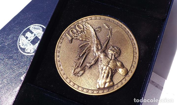 Medallas históricas: MEDALLA FUERZAS AÉREAS COLOMBIANAS.- 100 AÑOS DE LA AVIACIÓN MUNDIAL - Foto 5 - 127843899