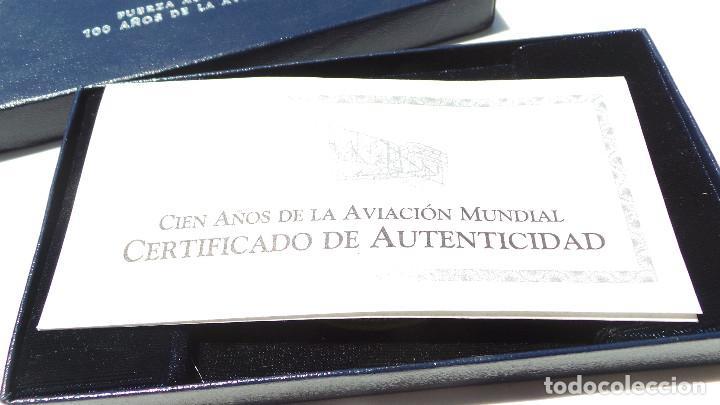 Medallas históricas: MEDALLA FUERZAS AÉREAS COLOMBIANAS.- 100 AÑOS DE LA AVIACIÓN MUNDIAL - Foto 10 - 127843899