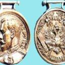 Medallas históricas: 1896.- MEDALLA NICOLAS II- PAIX - ALLIANCE-ENTRE FRANCIA Y RUSIA PASADOR 51 CM. DIÁMETRO.CUPRONIQUEL. Lote 128239207