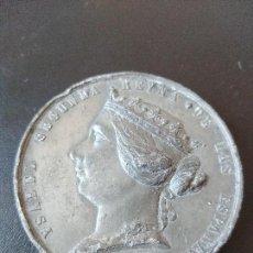 Medallas históricas: MEDALLA ISABEL II: 1859 GUERRA DE AFRICA. Lote 128445259