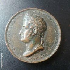Medallas históricas: MEDALLA FERNANDO VII: 1820 RESTABLECIMIENTO DE LA CONSTITUCION. Lote 128541243
