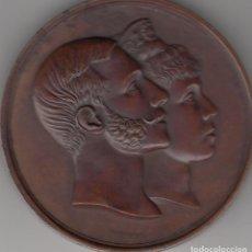 Medallas históricas: MEDALLA ALFONSO XII: 1879 MADRID - BODA REAL. Lote 128543667