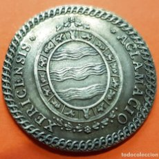Medallas históricas: 1789 EN JEREZ CARLOS IV MEDALLA DE PROCLAMACION EN PLATA CAROL IIII ACLAMATIO XERICENSE. Lote 128553423