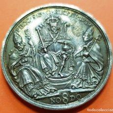 Medallas históricas: 1789 EN SEVILLA CARLOS IV MEDALLA DE PROCLAMACION EN PLATA NO8DO CAROL IIII MODULO 4 REALES. Lote 128553787