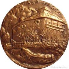 Medallas históricas: ESPAÑA. MEDALLA F.N.M.T. -CASA VASCA-. 1.985. Lote 128569107