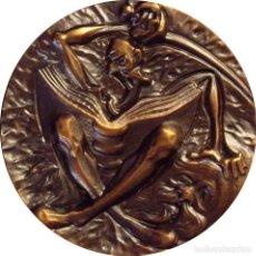 Medallas históricas: ESPAÑA. MEDALLA F.N.M.T. -EL QUIJOTE-. 2.000. BRONCE. Lote 128572179