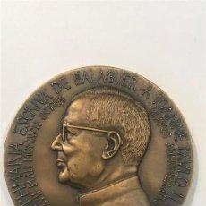 Medallas históricas: MEDALLA DE BRONCE JOSÉ MARÍA ESCRIVA DE BALAGUER. PUS DEI.. Lote 128578183