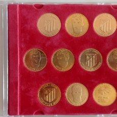 Medallas históricas: MONEDAS CENTENARIO ATLETICO DE MADRID. Lote 128713743