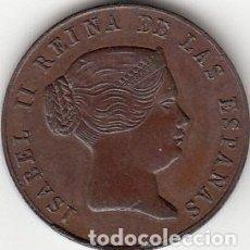 Medallas históricas: MEDALLA ISABEL II. 1862 SEVILLA. Lote 128991247