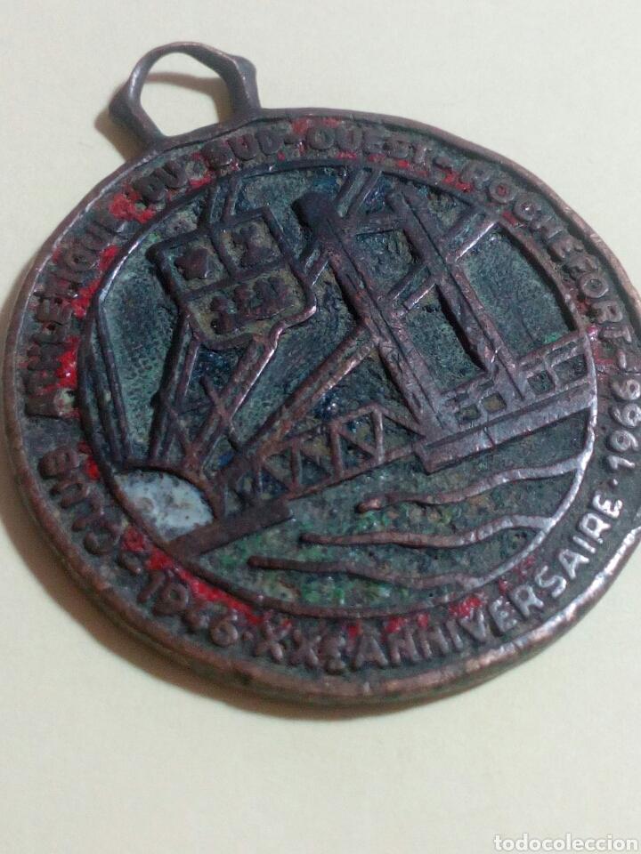 ANTIGUA MEDALLA DE COBRE (Numismática - Medallería - Histórica)