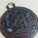 Medallas históricas: ANTIGUA MEDALLA DE COBRE. Lote 130590272