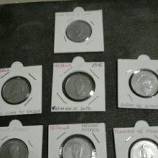 Medallas históricas: MEDALLAS ANTIGUAS DE CONQUISTADORES ESPAÑOLES. Lote 131592219