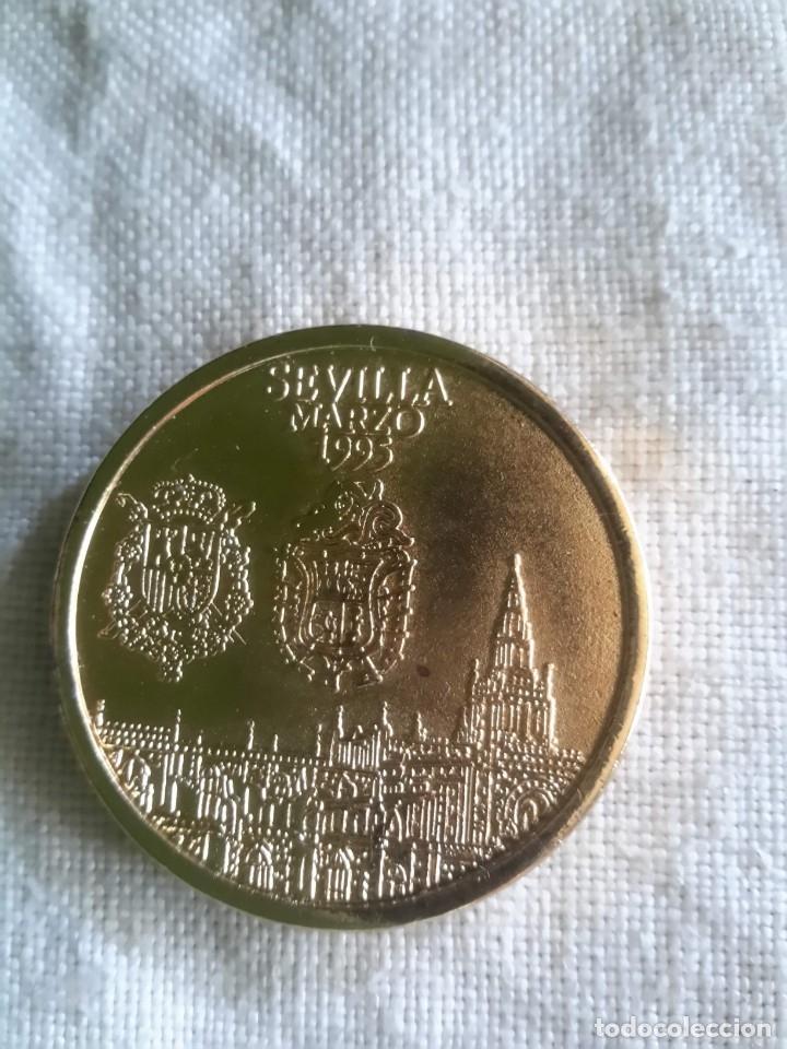 Medallas históricas: Moneda conmemorativa de la boda de la Infanta Elena - Foto 2 - 131790822