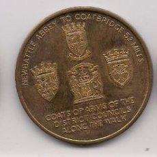 Medallas históricas: GRAN BRETAÑA, MEDALLAS DE CIUDADES Y DISTRITOS. Lote 132770150