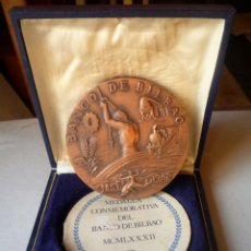 Medallas históricas: MONEDA MEDALLA BCO. BILBAO 125 ANIVERSARIO. Lote 133033174