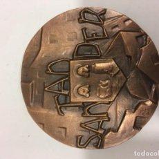 Medallas históricas: MEDALLA SANTANDER. Lote 133859038