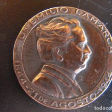 Medallas históricas: MEDALLA. DR. EMILIO LAMARCA. ADALID DEL CATOLICISMO ARGENTINO. 1944.. Lote 134360834