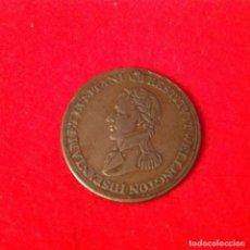 Medallas históricas: MEDALLA DE BRONCE DE WELLINGTON, LIBERACIÓN DE ESPAÑA 1808-1812, PRINCIPALES BATALLAS, 28 MM. Lote 134723778