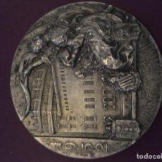 Medallas históricas: MEDALLA PLATA VALENCIA 1952. Lote 134792114