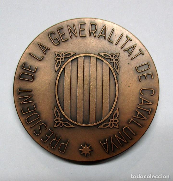 Medallas históricas: LLUIS COMPANYS I JOVER PRESIDENTE DE LA GENERALITAT DE CATALUÑA. MEDALLA. LOTE 0069 - Foto 2 - 135255330