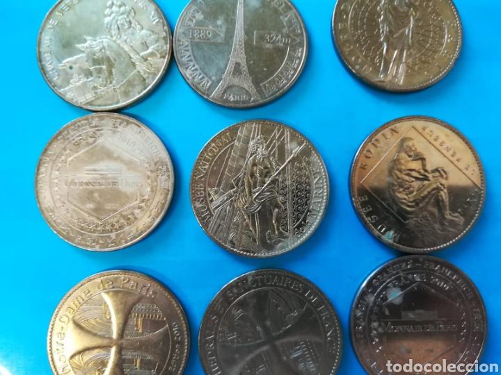 Medallas históricas: Monedas conmemorativas Paris. Medallas - Foto 3 - 135308457