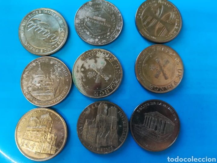 MONEDAS CONMEMORATIVAS PARIS. MEDALLAS (Numismática - Medallería - Histórica)