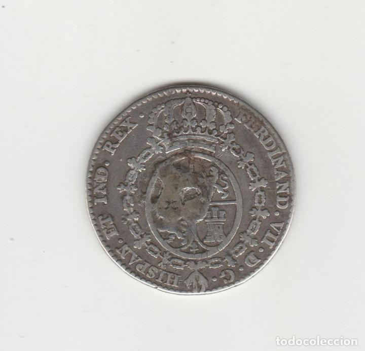 Medallas históricas: FERNANDO VII- MEDALLA DE PROCLAMACION-2 REALES-1808 - Foto 2 - 135791482