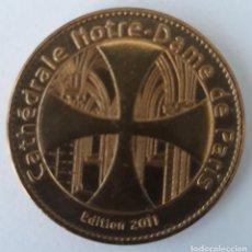 Medallas históricas: MEDALLA COLECCIÓN NOTRE DAME PARIS. 2011 (ESCASA).. Lote 136476522