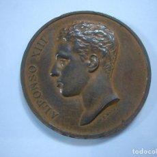 Medallas históricas: MEDALLA CONMEMORATIVA ALFONSO XIII. CA3. Lote 136681350