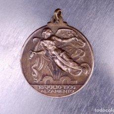 Medallas históricas: ALZAMIENTO 18 DE JULIO 1936. Lote 136731986
