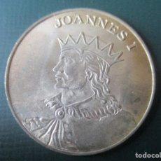 Medallas históricas: MEDALLA DE PLATA. JUAN I DE CASTILLA Y LEON. Lote 137808986