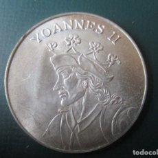 Medallas históricas: MEDALLA DE PLATA. JUAN II DE CASTILLA Y LEON. Lote 137809194