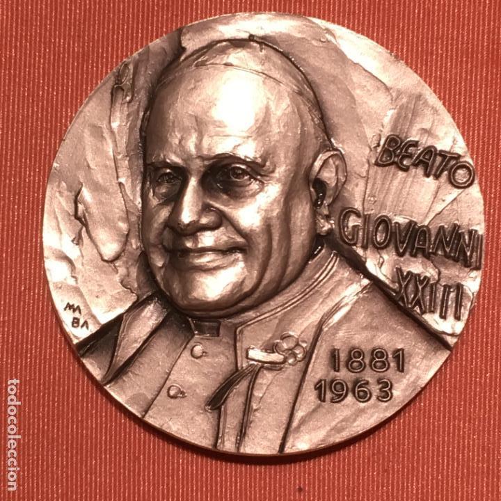 Medallas históricas: Tres medallas papales - Foto 2 - 138687154