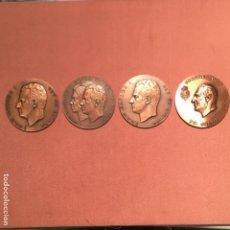 Medallas históricas: CUATRO MEDALLAS JUAN CARLOS I. Lote 138726034