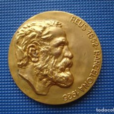 Medallas históricas: MEDALLA CONMEMORATIVA ANTONI GAUDI. Lote 138831530