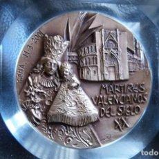 Medallas históricas: MARTIRES VALENCIANOS S. XX, GUERRA CIVIL, SACERDOTES DIOCESANOS,MUJERES,HOMBRES Y JOVENES DE A.C.. Lote 138978214