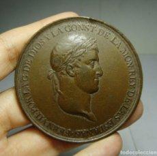 Medallas históricas: MEDALLA DE LA PROMULGACIÓN DE LA CONSTITUCIÓN. FERNANDO VII. CÁDIZ. GRABADOR SAGAU Y DALMAU. . Lote 139821294