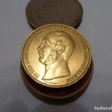 Medallas históricas: EXIBICION INTERNACIONAL 1862 PRUSIA BRONCE. Lote 139828074