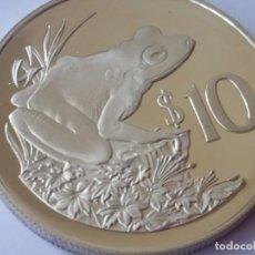 Medallas históricas: FIJI-MONEDA- 10 DOLARES 1986 PLATA ( 28,28GR. ) SC UNC (H187 ). Lote 140722714