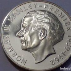 Medallas históricas: JAMAICA-MONEDA- 5 DOLARES 1974 PLATA ( 38,00GR. ) SC UNC (H188 ). Lote 140750478