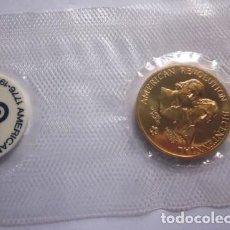 Medallas históricas: ESTADOS UNIDOS . MEDALLA DORADA DE 1976 .BICENTENARIO. Lote 140812858