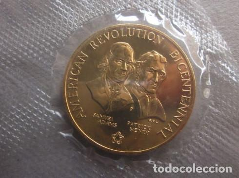 Medallas históricas: ESTADOS UNIDOS . MEDALLA DORADA DE 1976 .BICENTENARIO - Foto 3 - 140812858
