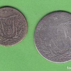 Medallas históricas: LOTE 2 MEDALLAS PROCLAMACION FERNANDO VII 1808 20MM- 3 GR , Y 25MM-5´7 GR. Lote 140861046