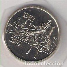 Medallas históricas: MEDALLA QUE CONMEMORA EL 700 ANIVERSARIO DE LA BATALLA DE COURTRAI (FLANDES). (MD1031). Lote 141340486
