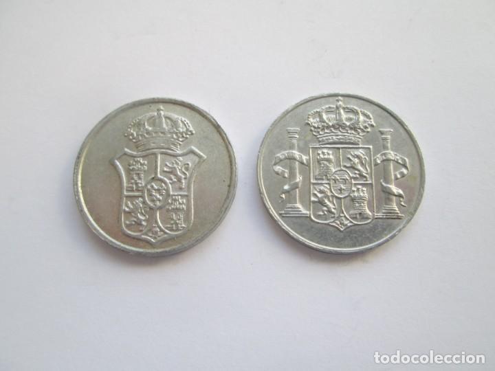 Medallas históricas: LOTE DE 2 MEDALLAS * CARLOS IV Y FERNANDO VII - Foto 2 - 142351842