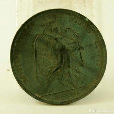 Medallas históricas: RARA MEDALLA EN PLOMO 1809 HOSTIBVS VBIQUE CAESIS CAPTIS PRUEBA?. Lote 142801066